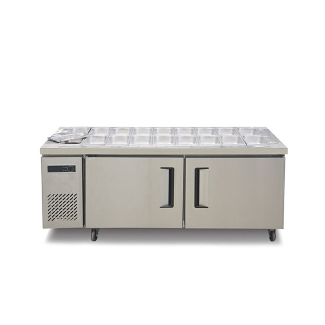 Commercial Stainless Steel Kitchen Undercounter Freezer