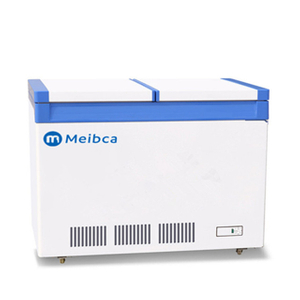 White Double Temperature Chest Freezer Price For Sale