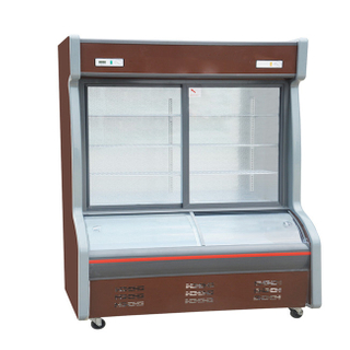 Energy Saving Restaurant Use Display Fruit Vegetable Cooler