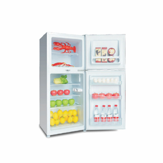 Good Price Double Door Appliances Top Freezer Refrigerator